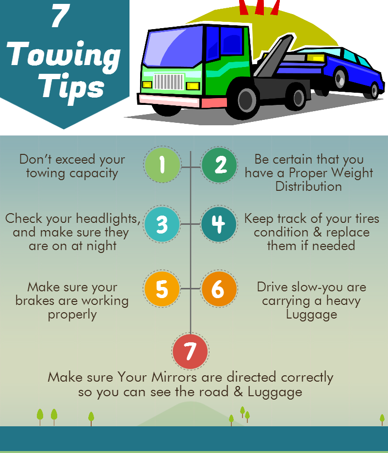 7 Towing Tips
