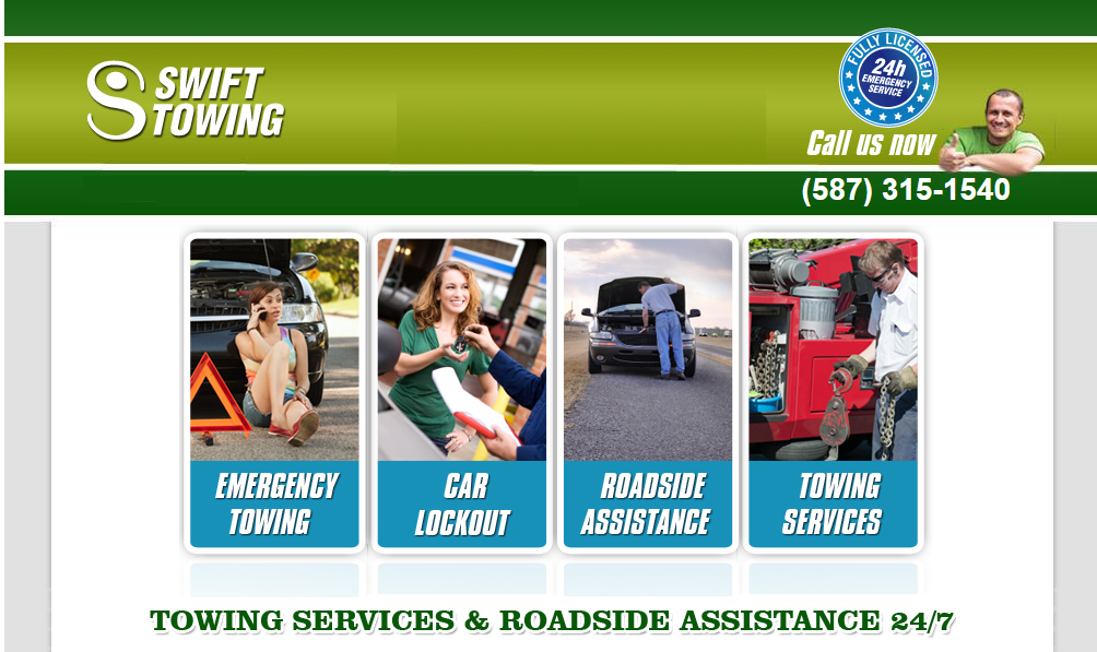 towing services in Calgary